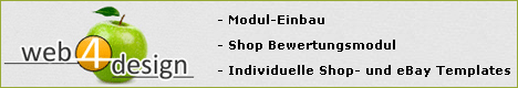 Shopbewertung, Shopdesign, Shop-Template, xtc-Module, eBay-Templates